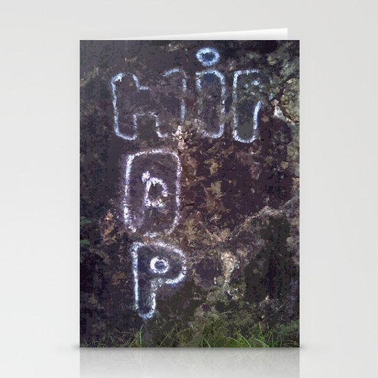 """good kid, m.A.A.d city"" by Cap Blackard Stationery Card"