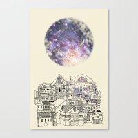 Cincinnati Fairy Tale Canvas Print
