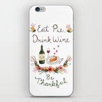 Be Thankful iPhone & iPod Skin