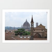 Santa Maria Novella Duom… Art Print