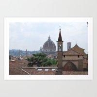 Santa Maria Novella Duomo Art Print