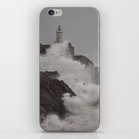 Wild Welsh Waves iPhone & iPod Skin