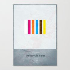 Reservoir Dogs - minimal poster Canvas Print