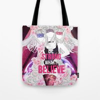 Born This Way - Be Stron… Tote Bag