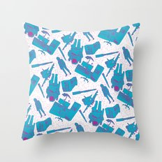 SPACE 3000 Throw Pillow