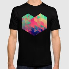 plyyt Black SMALL Mens Fitted Tee