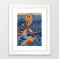 Non-Euclidean Adventures  Framed Art Print