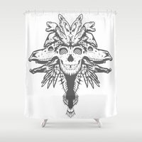 GOD III Shower Curtain