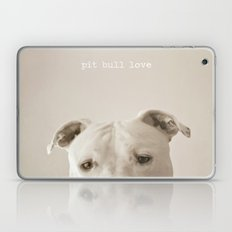 Pit Bull Love  Laptop & iPad Skin