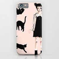 Augustine And Cats iPhone 6 Slim Case