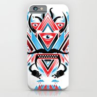 iPhone & iPod Case featuring An Ancient Deity  by Zack Anderson