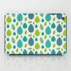 Trees pattern iPad Case