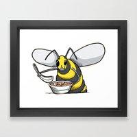 Miso Hornet Framed Art Print