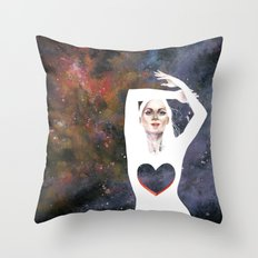 Love is infinite as the Cosmos Throw Pillow
