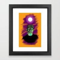 Frankenstein  Framed Art Print