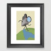 towbytwo Framed Art Print