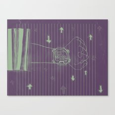 talkin about visions. Canvas Print