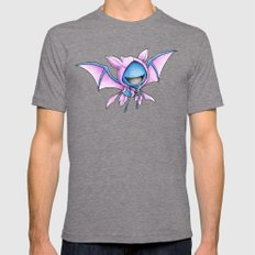 Still a little Batty Mens Fitted Tee Tri-Grey SMALL