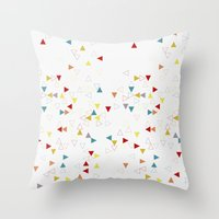 100's and 1000's Throw Pillow