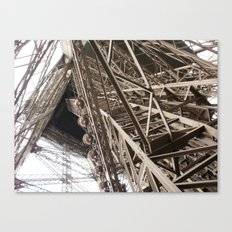 Eiffel Tower Ironwork Canvas Print