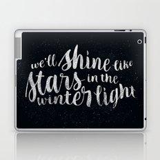 Shine like Stars - Winter Laptop & iPad Skin
