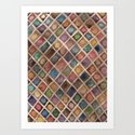 just a pattern Art Print