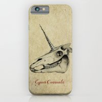 iPhone & iPod Case featuring Equus Cornualis by maxandr