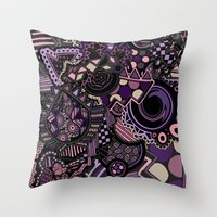 Snapped Throw Pillow