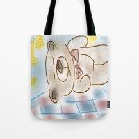 Bedtime Bear Tote Bag