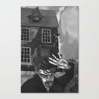 A Tale Of An Empty House Canvas Print