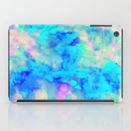 iPad Case featuring Electrify Ice Blue by Amy Sia