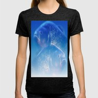 Pisces - Fishes Womens Fitted Tee Tri-Black SMALL