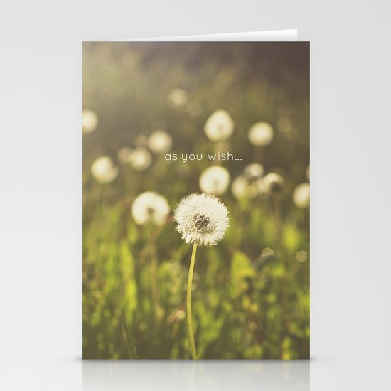 As you wish... Stationery Card
