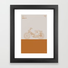 Macchina No.01 Framed Art Print