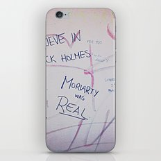 Moriarty was real iPhone & iPod Skin