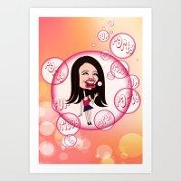 Rebecca Black. It's Frid… Art Print