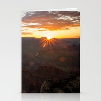 Grand Canyon National Park - Sunrise at South Rim Stationery Cards