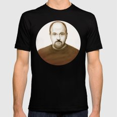 Louis Ck SMALL Mens Fitted Tee Black