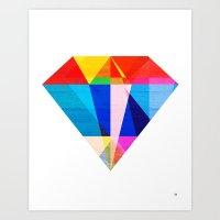 Jewel Tone Art Print