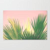Neon Tropics II Canvas Print