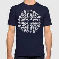 blan Mens Fitted Tee Navy SMALL