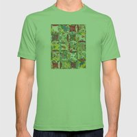style nostalgia Mens Fitted Tee Grass SMALL
