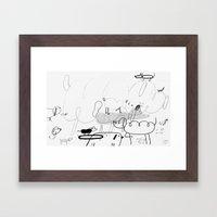 Lost Dogs Framed Art Print