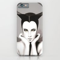 iPhone & iPod Case featuring TAURUS WOMAN by Anna Maria Zaremba