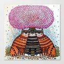 A cherry blossom season Canvas Print