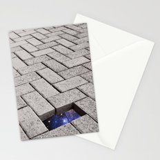 Holes in the Fabric Stationery Cards