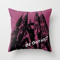 Gaudi - Be Gothic! Throw Pillow