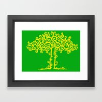 Branches Of Light Framed Art Print