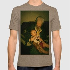 4 generations  Mens Fitted Tee Tri-Coffee SMALL