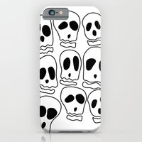 iPhone & iPod Case featuring Skulls-1 by Julianne Ess